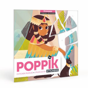 stickers puzzles princesses