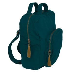 backpack teal blue