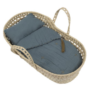 doll basket ice blue