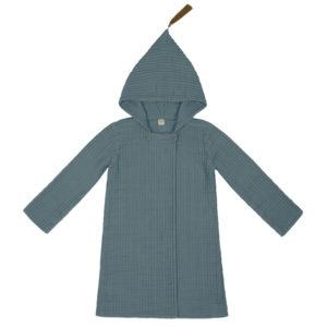 joy bathrobe ice blue