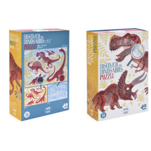 puzzle discover dinosaurs