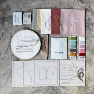 Sky Embroidery Kit