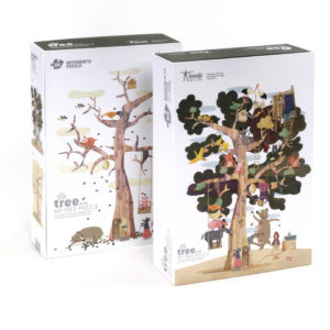 puzzle the tree