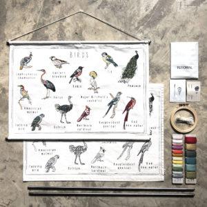 school poster birds