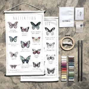 school poster butterflies