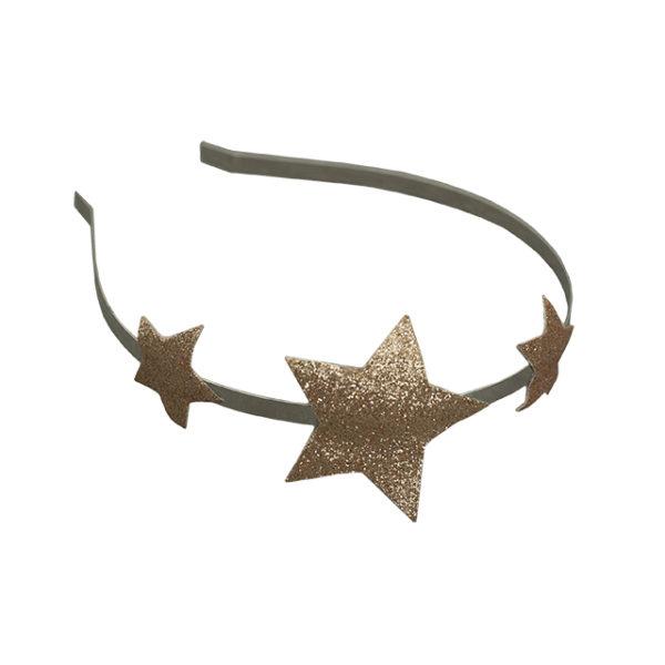 serre-tete étoiles dorées