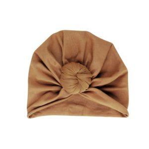 turban beanie nut
