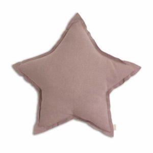 star cushion dusty pink