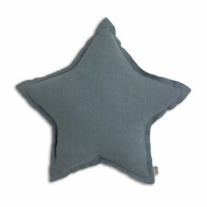 STAR CUSHION ICE BLUE