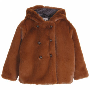 manteau fausse fourrure emile et ida