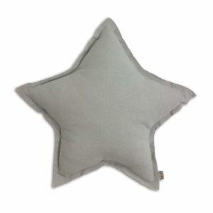 STAR CUSHION SILVER GREY