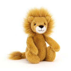 lion bashful medium jellycat