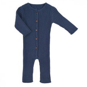 combinaison ernestine tricot bleu orage lililotte